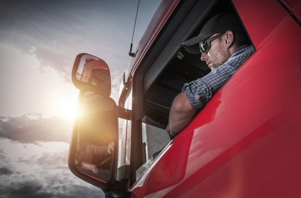 a truck driver