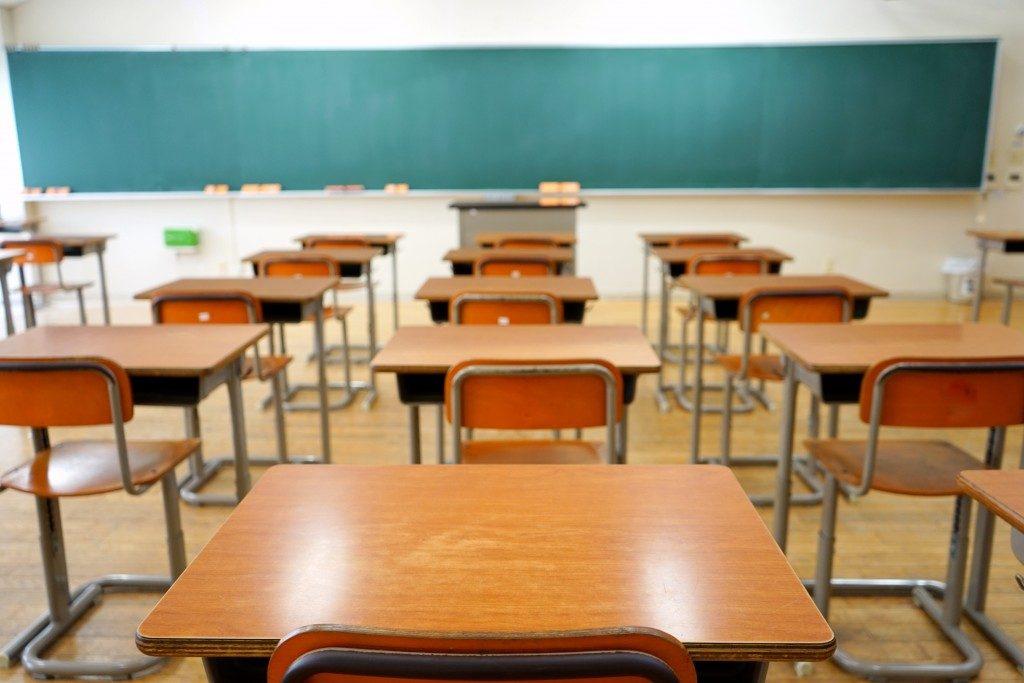 Classroom at school