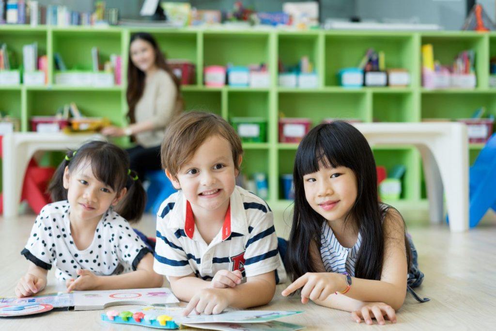 children classroom nursery